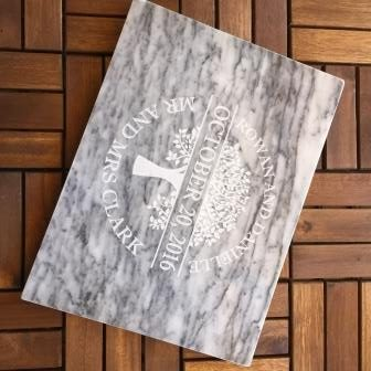 personalised marble